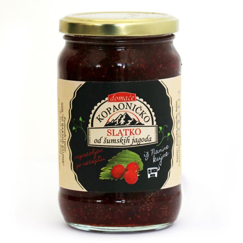 Domaće slatko od šumskih jagoda 350g